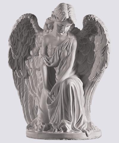 Скульптура ангела на могилу памятники на могилу фото и цены челябинск на двоих